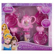 DISNEY PRINCESS Bubble Tea Set Toy 14 Piece Set Bubbles NEW