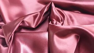 """Luxurious Premium Bridal Satin Bed Scarf + Pillow Cover Cal King size 112"""" x 24"""""""