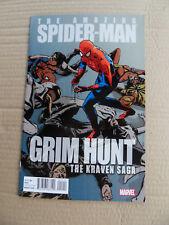 Amazing Spider-Man: Grim Hunt - Kraven Saga . Giveaway . Marvel 2010 . VF +