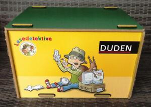 Holz Spielzeugkiste Aufbewahrungsboxen Bücherregal Spieltisch Box + Leselöwen