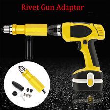 Portable Riveting Tool Cordless Drill Adaptor  Electric Rivet Nut Gun