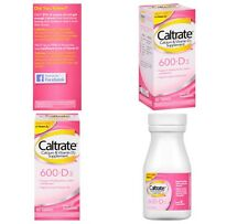 Caltrate 600+D3 Calcium Vitamin D3 Supplement (60-Count Tablets)