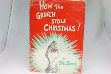 """1st Edition """"How the Grinch Stole Christmas"""" by Dr. Seuss"""