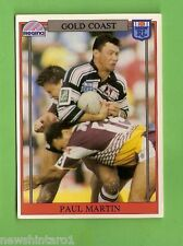 1993 RUGBY LEAGUE CARD #133  PAUL  MARTIN, GOLD COAST SEAGULLS