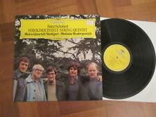 Melos Quartett Stuttgart - Schubert - Streichquintett - German DGG LP 1978