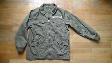Parker-Jacke UNISEX, Gr.152 -khaki- kaum getragen