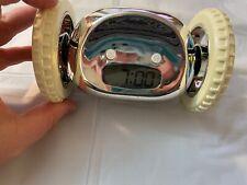Clocky Original Alarm Chrome Clock on Wheels