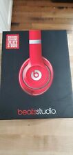 Beats by Dr. Dre Studio 2.0 Wired Over-ear Headphone B0500 Bt033