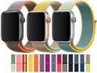 Nylon Woven Strap For Apple Watch Series 7 6 5 4 3 2 1 SE 38/40/41 & 42/44/45 mm <br/> Fits New Series 7 - Dispatched Today! (Order by 3:30pm)