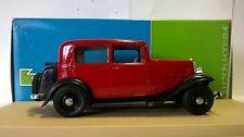 ELIGOR 1:43 AUTO DIE CAST CITROEN ROSALIE BERLINE 1933 BORDEAUX ART 1005