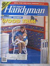 The Family Handyman June 1993 Installing Wood Trim, Build your Patio Furniture