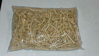 Wood Color GOLF TEES 2 3/4 Inch  200 Count. Brand New.
