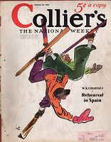 1937 Colliers January 23 - Spain watch; What is Social Security? Microbes