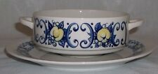 Villeroy & Boch CADIZ soup bowl and saucer EXCELLENT - retro / vintage