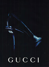 PUBLICITE  ADVERTISING  1998   GUCCI   collection PUBLICITE  ADVERTISING