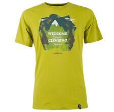 La Sportiva Welcome Tee (M) Citronelle / Ocean