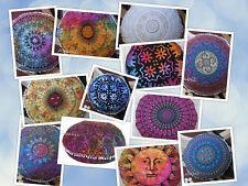 Mix Size Wholesale 12 Pcs Lot Mandala Pillow Case Round Cushion Pillow Cover Art
