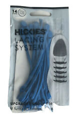 Hickies 14 units Lacing System Tie Elastic Shoe Lace Electric Blue