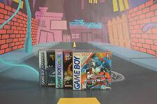 10 CAJAS PROTECTORAS GAME BOY GAMEBOY GBA GBC SNUG FIT BOX PROTECTORS