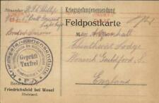 Prisoner Of War -FRIEDRICHSFELD bei WESEL-Camp for Enlisted Men-
