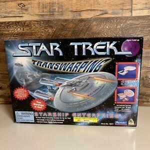 Star Trek 1996 Playmates USS Enterprise 1701-D Transwarping Starship NOS NIP