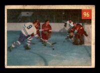 1954-55 Parkhurst #96 Terry Sawchuk/Ted Kennedy IA G/VG X1259084
