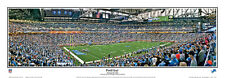 Detroit Lions FORD FIELD NFL GAMEDAY Premium Panoramic POSTER Print by Arra