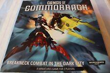 Games Workshop Warhammer 40k Gangs of Commorragh Drukhari Dark Eldar NO MODELS