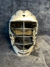 New listing Cascade PRO7C Lacrosse Helmet White with Chin Strap Adult Size OSFM