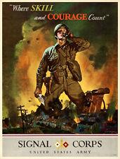 World War II Propaganda War Department, 1942 Poster Replica 14 x 11 Photo Print