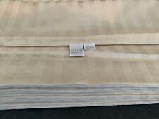 Frette Sophia Striped Cream Euro Sham Pillow Case 100% Cotton New! (Set Of 4)