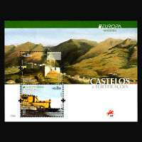 "Madeira 2017 - EUROPA Stamps ""Palaces and Castles"" Architecture s/s - MNH"
