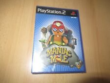 Sony Playstation 2 PS2 Game Maniac Mole  New Factory Sealed ps2 pal