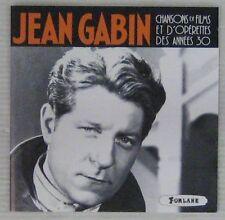 Jean Gabin CD Chansons de films et d'opérettes