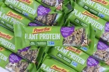 54 Power Bar Plant Protein Bars Dark Chocolate Salted Caramel Cashew non GMO