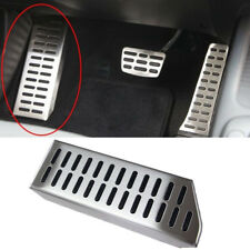 Genuine Alloy Foot Rest Cover Pedal Pad (Fits: KIA 2014-2018 Forte Cerato K3)