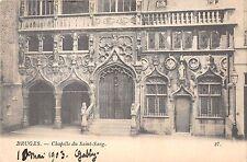 BR55854 Chapelle du saint sang Bruges belgium