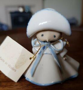 Sue Rycroft Matti Mouse Blue Trimmed Dress With Matching Bonnet   Perfect!
