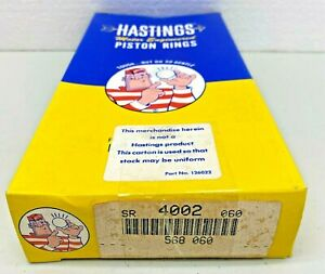 4002 / 568 .060 bore Hastings NOS Piston Rings fits JEEP V8 1968-1979 + more