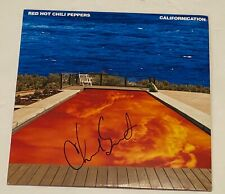 Chad Smith Signed Autograph Red Hot Chili Peppers Californication Album LP COA