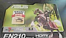 ASUS EN210 DI/512M D2/LP PCIEx HDMI/VGA/DVI graphics card (new)