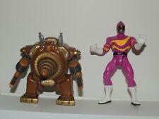 Craterites Vintage Power Rangers In Space Evil Aliens Villain Figure 90s Lot