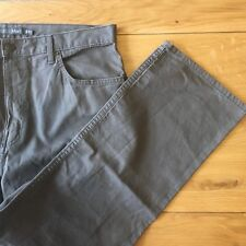 "M&S Man 100% Cotton Trousers 36"" Waist 31"" Length Mole Brown"