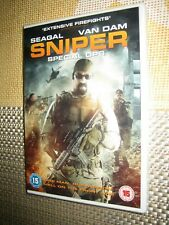SNIPER SPECIAL OPS - {DVD} Steven Seagal - NEW & SEALED - FREE POST