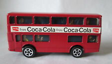 Corgi Juniors Red Coca-Cola Daimler Fleetliner London Double Decker Bus (Mint)