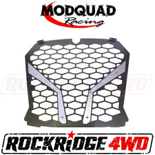 MODQUAD RACING FRONT GRILL FOR THE 18+ RZR XP TURBO S - ALUMINUM