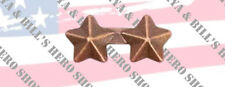 Bronze Star 3/16'' Ribbon Appurtenances Attachment Device Two 2 Mounted On A Bar