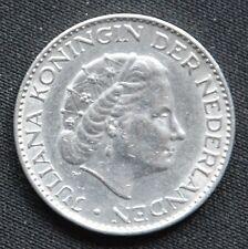 1 Gulden Niederlande Umlaufmünzen 1966 - Silber