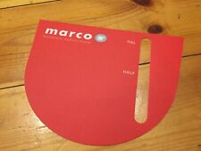 More details for new genuine marco qwikbrew coffee machine membrane label replacement cover hot