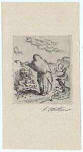 Ludwig Meidner: September Cry Septemberschrei 1920 / German Expressionism Litho